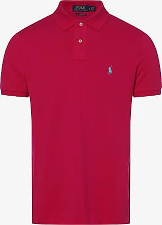 Polo Ralph Lauren Herren Poloshirt - Custom Slim Fit rosa
