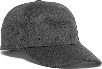 Loro Piana Storm System Baby Cashmere Baseball Cap - Charcoal