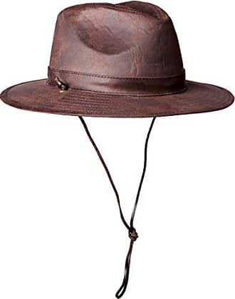 2785d405510a62 San Diego Hat Company San Diego Hat Co. Mens Distressed Faux Suede Hat,  Brown