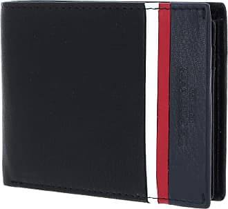 U.S.Polo Association U.S. POLO ASSN. Dixon Horizontal Wallet with Coin Holder and Flap Black