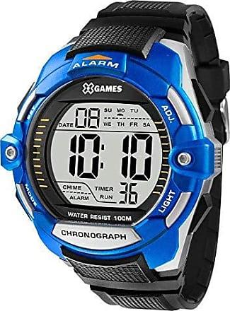 X-Games Relógio Masculino X-Games Xmppd433 Bxpx - Prata/Azul