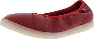Softinos Lili Womens Ballet Flats, Womens Classic Ballet Flats, Loose Insert Red Size: 8.5 UK