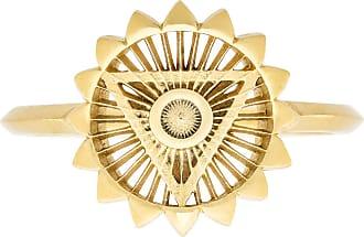 Zoe & Morgan Fünfter Chakra-Goldring - SMALL - Gold
