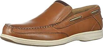 Florsheim Mens Lakeside Slip Boat Shoe, Saddle Tan, 7.5 M US