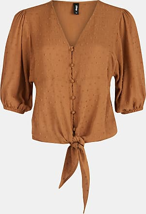 Shoeby Eksept Denise Blouse Lichtbruin Dames