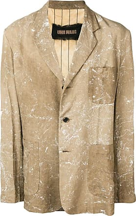 Uma Wang tan casual blazer - Brown