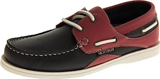 Footwear Studio Yachtsman By Seafarer Womens Navy & Pink Leather Casual Summer Deck Shoes6 UK