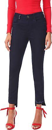 Lança Perfume Calça Jeans Lança Perfume Skinny Diana Azul-marinho