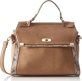 d3ad011cce Tamaris Tiana Handbag, Sacs portés Main Femme - Beige - Beige - Beige (Sand
