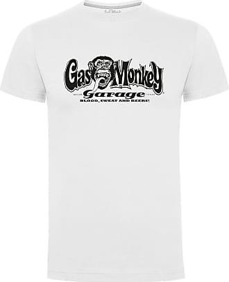 Gas Monkey Garage OG T-Shirt Logo White-XXXL