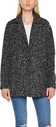 Vero Moda Womens Vmsalt Jacket, Black (Black Beauty Detail:w. Light Grey), 36 (Size: Small)