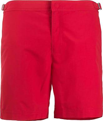 Orlebar Brown Short de natação Bulldog - Vermelho