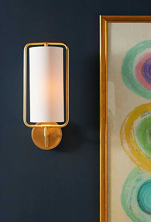 Anthropologie Geometric Sconce