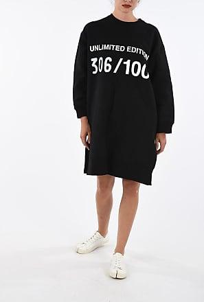 Maison Margiela MM6 Long Sleeve Sweat Dress Größe Xs