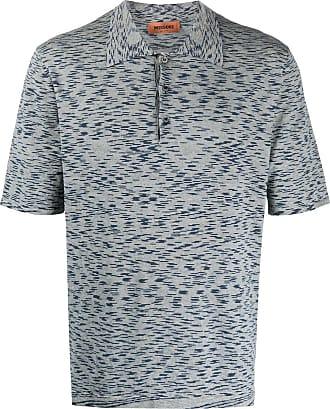 Missoni Camisa polo de tricô - Azul