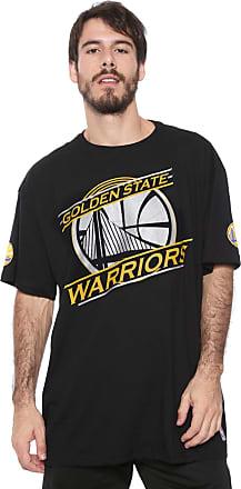 NBA Camiseta NBA Golden State Warriors Preta