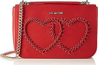 Love Moschino Borsa Calf Pu Rosso - Borse a spalla Donna 9dc6d81e858