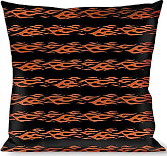 Buckle Down Pillow Decorative Throw Flame Orange