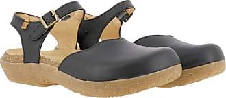 El Naturalista WAKATIWAI Womens Sandals Platform Sandals Black Size: 5 UK