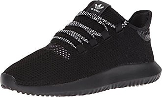 adidas Originals Mens Tubular Shadow CK, Core Black/Core Black/White, 4 M US