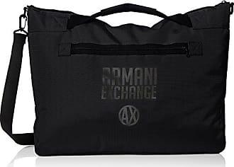 A|X Armani Exchange Armani Exchange Mens Utility Duffle Bag, Black, TU