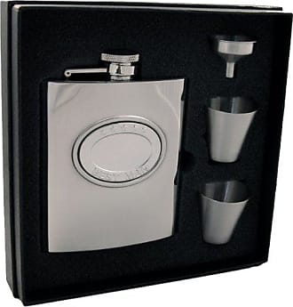 VisolGroomsman Stainless Steel Deluxe Flask Gift Set 8-Ounce