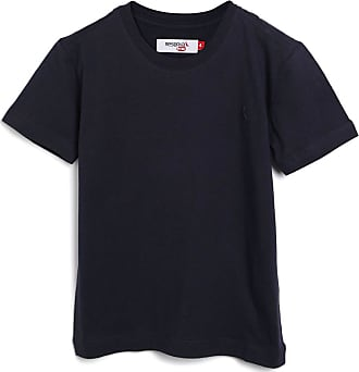 Reserva Mini Camiseta Reserva Mini Infantil Lisa Azul-Marinho