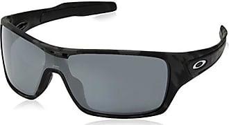 Oakley Mens Turbine Rotor Polarized Iridium Rectangular Sunglasses, BLACK CAMO, 0 mm