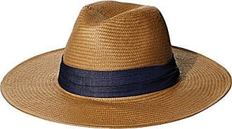 ále by Alessandra Womens Havana Panama Sunhat Packable, Adjustable & UPF Rated, Cognac, One Size