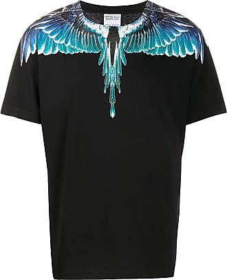 Marcelo Burlon T-shirt Wings aderente - Di colore nero