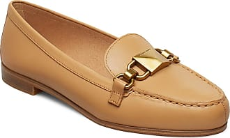 Michael Kors Emily Loafer Loafers Låga Skor Brun Michael Kors Shoes