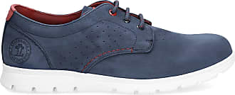 Panama Jack Mens Shoes Domani C800 Nobuck Marino/Navy 41 EU