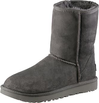 UGG Classic Short II Stiefel Damen in grey, Größe 37