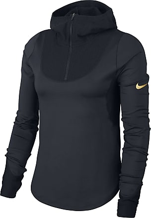 Nike Long Sleeve Running Top Bekleidung Damen schwarz