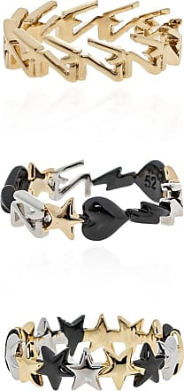 Zadig & Voltaire Set Of Three Rings Womens Gold