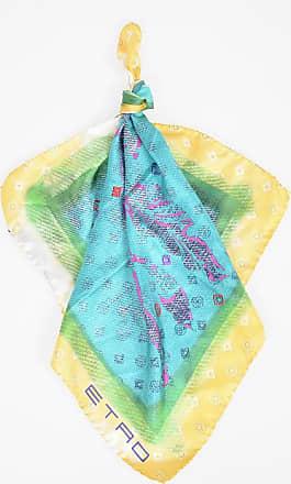 Etro Printed Silk Neckerchief size Unica