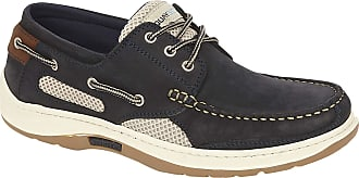 Quayside Sydney Mens Deck Shoe (Navy, 13)