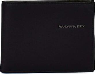 Mandarina Duck Detroit Leather RFID Bifold Wallet M Black