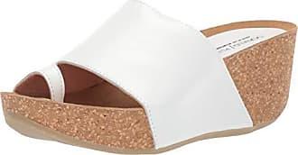 Donald J Pliner Womens GINIE2-08 Wedge Sandal White 6.5 B US