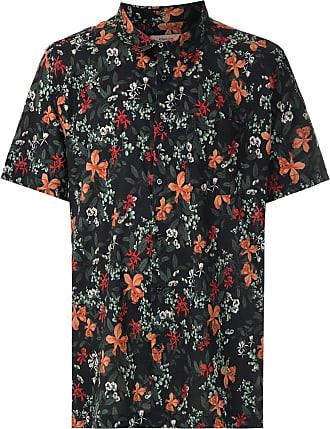 Osklen Camisa mangas curtas estampada - Preto