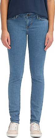 Mustang Womens Slim Fit Caro Jeans - Blue - UK 4