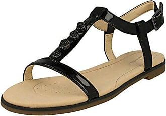 Flache Sandalen für Damen: Clarks Sarla Choir Champagner