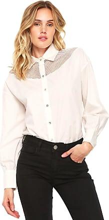 Lebôh Camisa Lebôh Tela Off-White