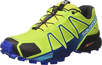 Salomon Tênis Masculino Speedcross 4 Verde/Azul 392399 - Salomon - 45