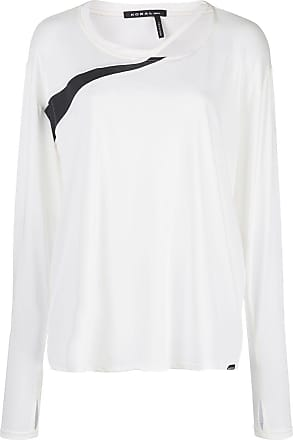 Koral T-shirt Pace Cupro a maniche lunghe - Di colore bianco