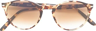 Persol round frame sunglasses - Marrom