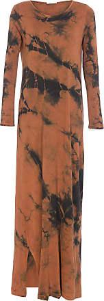 Yogini Vestido Lubeck Tie Dye - Marrom