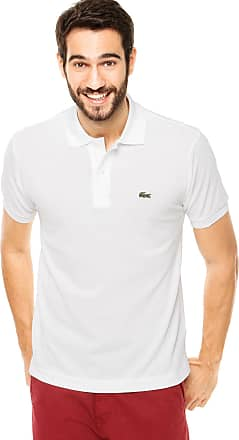 Lacoste Camisa Polo Lacoste Classic Fit Branca