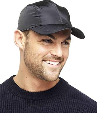 Tom Franks Lightweight Waterproof Cap with Jersey Lining Black L/XL