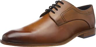 Bugatti Mens 312752031100 Derbys, Brown (Cognac 6300), 9.5 UK